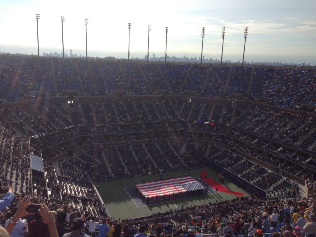 My US Open Experience, US Open, Lee Abbamonte, Mens Final