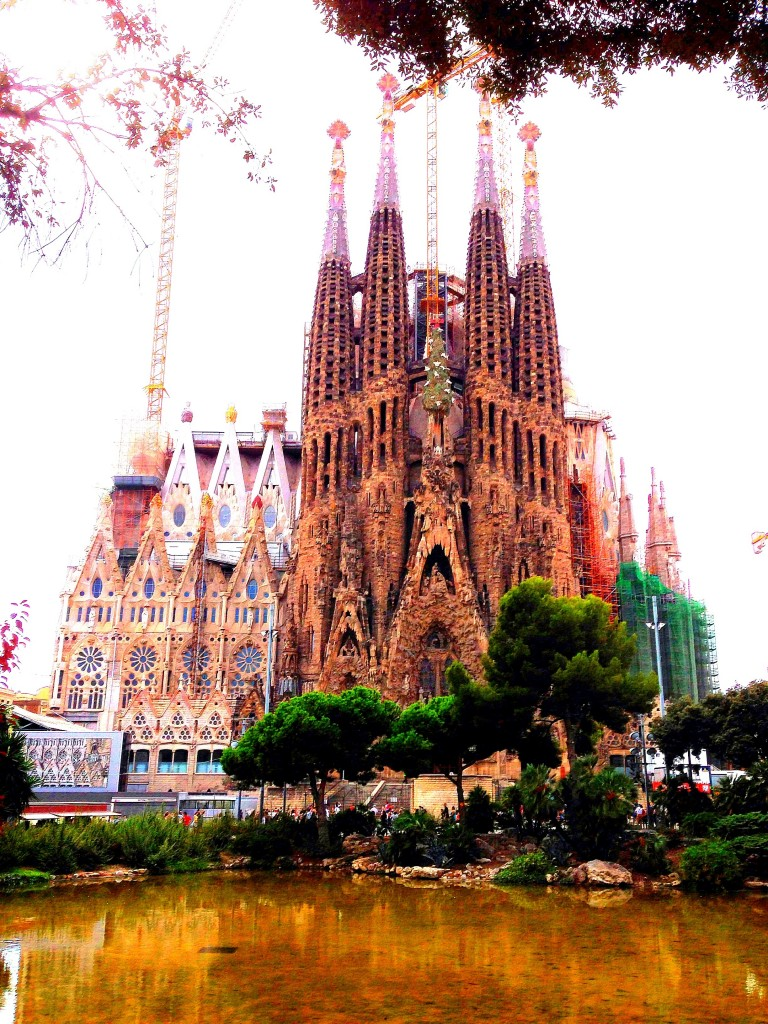 Barcelona, Gaudi, La Sagrada Familia, Architecture, Spain