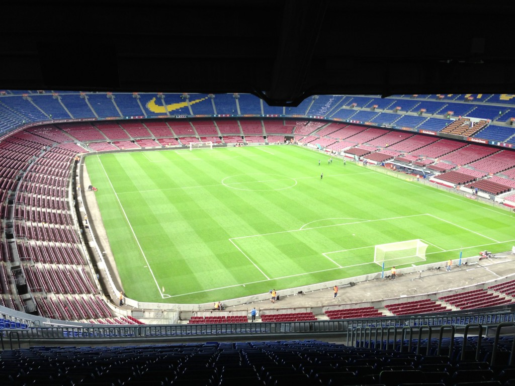 FC Barcelona, Nou Camp, Camp Nou, Camp Nou Experience, Barcelona, Spain, soccer, football, La Liga, luxury box