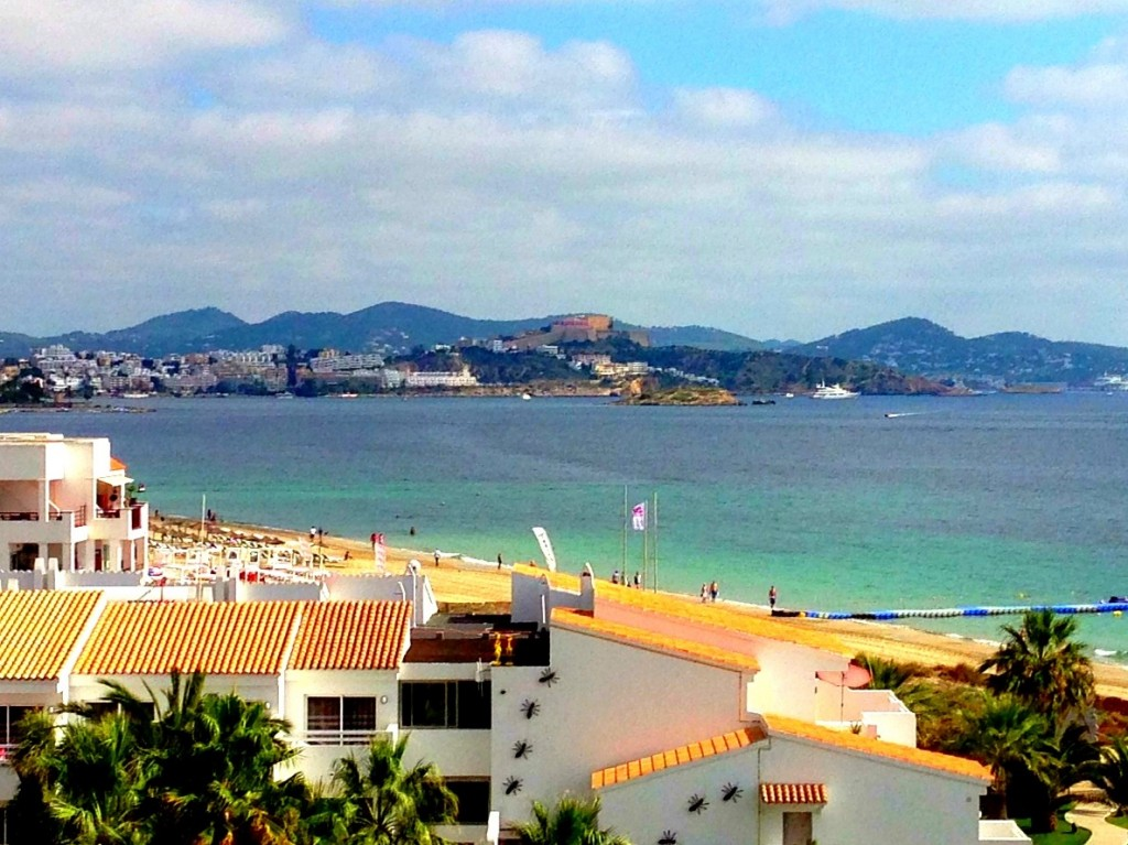 Ibiza, beach, Playa d'en Bossa, Ushuaia Beach Hotel, Spain, Balearic Islands