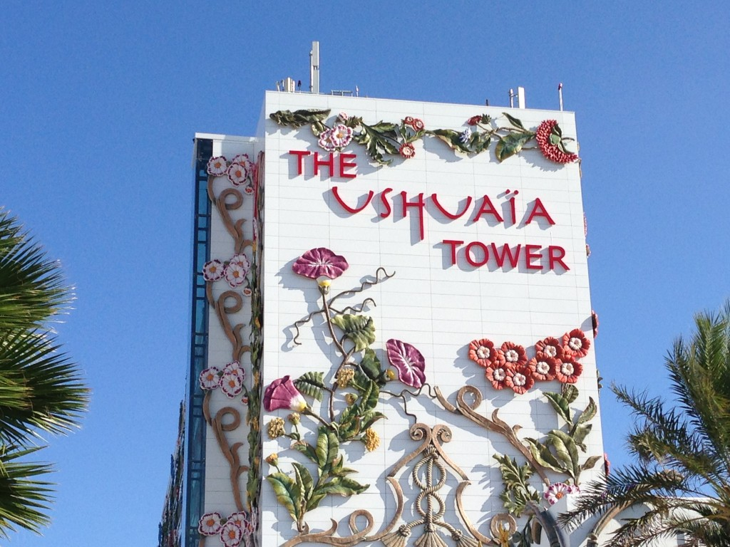 Ushuaia Tower, Ibiza, beach, Playa d'en Bossa, Ushuaia Beach Hotel, Spain, Balearic Islands