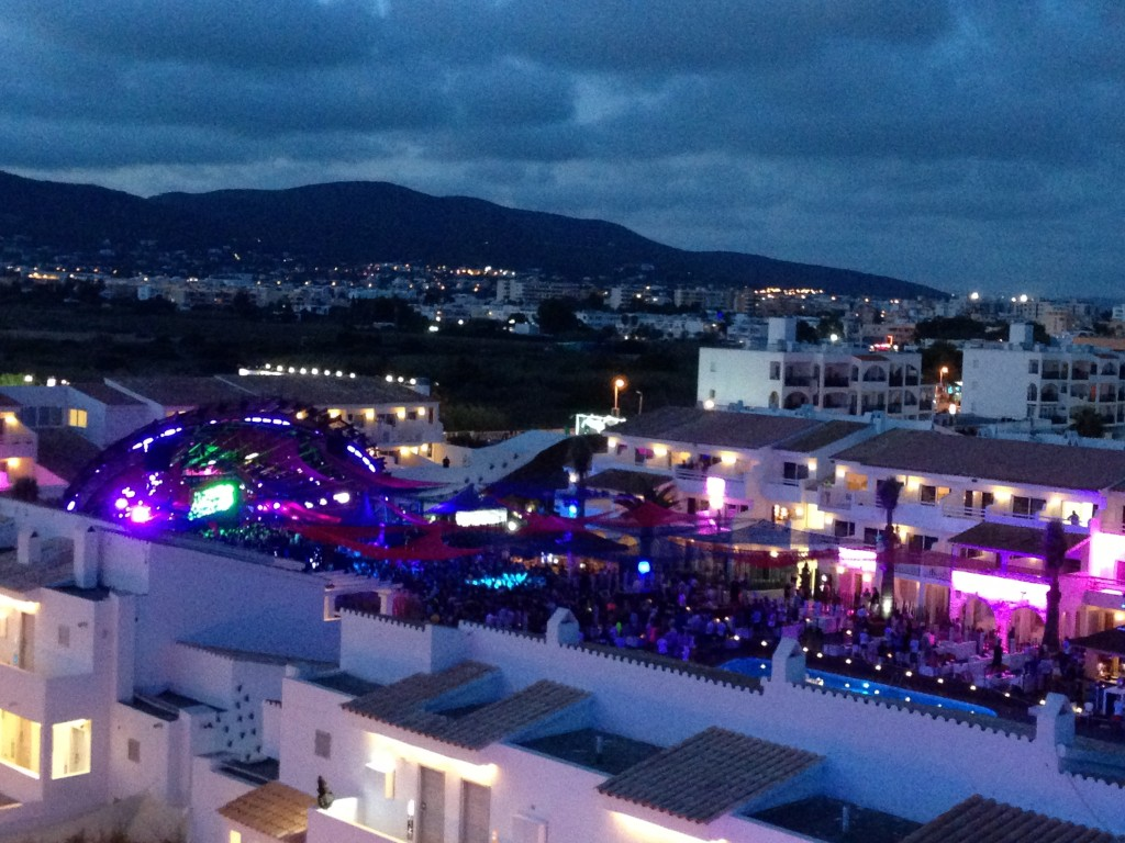 Ibiza, beach, Playa d'en Bossa, Ushuaia Beach Hotel, Spain, Balearic Islands, party, rave