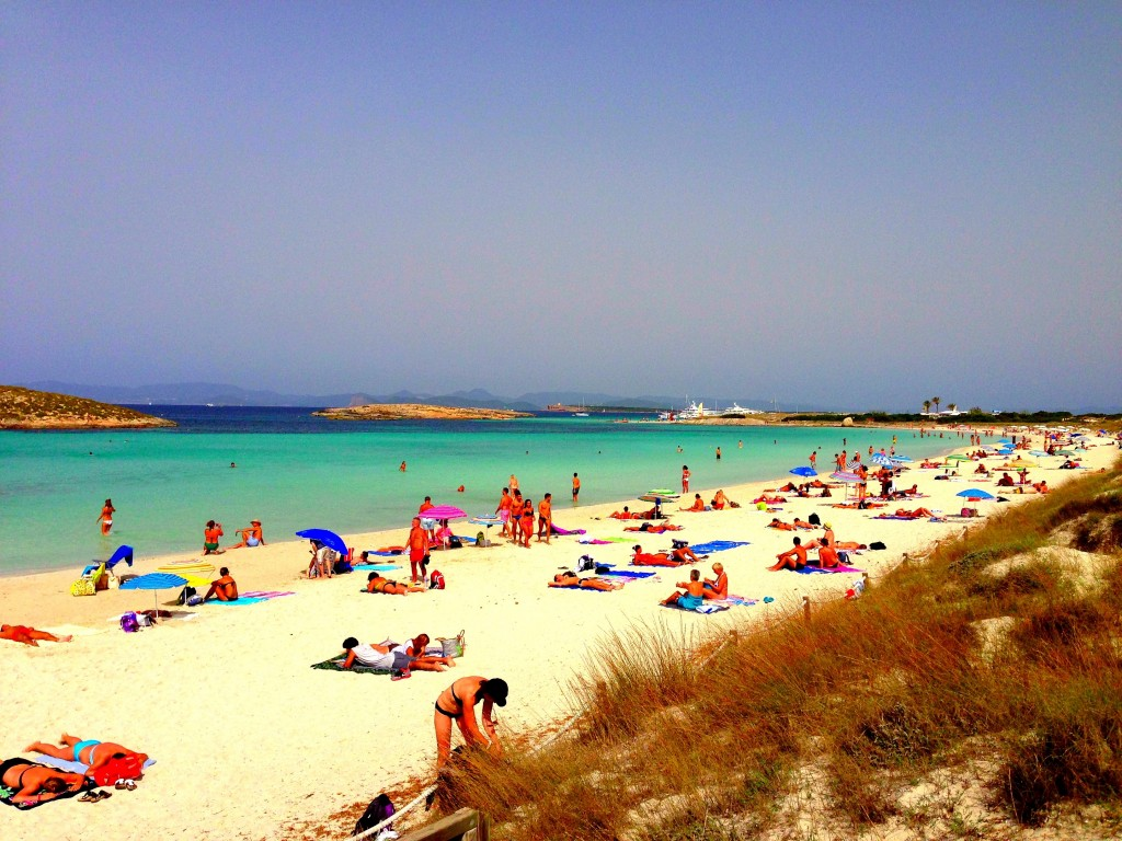 Formentera, beach, Illetes Beach, Spain