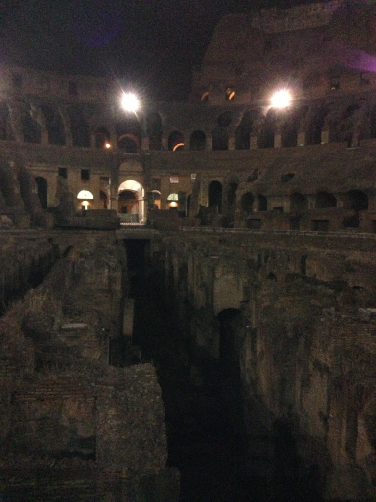 Colosseum at night tour, Walks of Italy, Rome, Colosseum