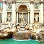 Rome, Italy, Fontana de Trevi, Trevi Fountain