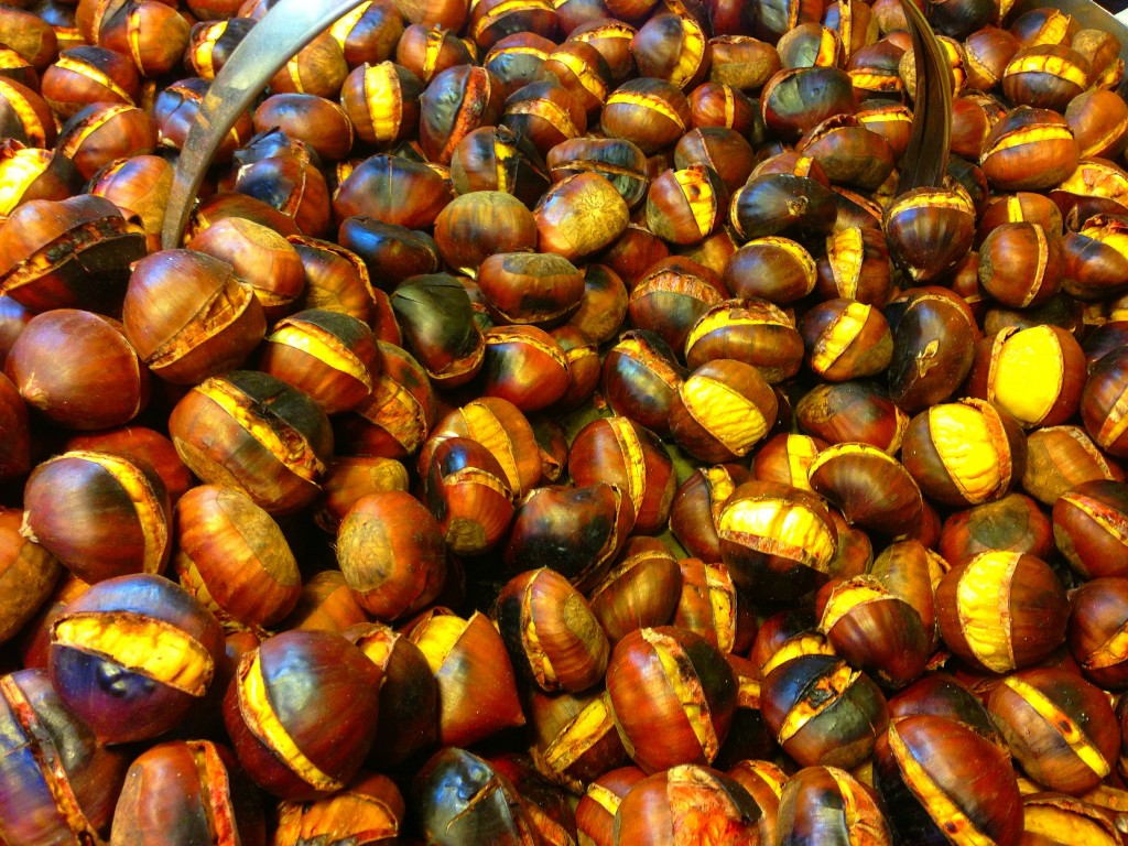 Rome, Chestnuts, food