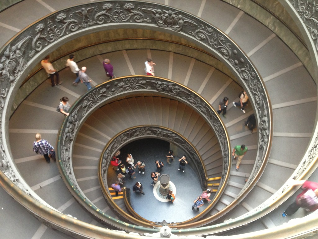 Vatican Museums, Sistine Chapel, Michelangelo, stairs