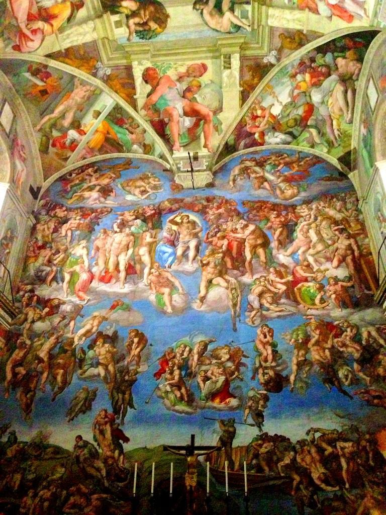 Vatican Museums, Sistine Chapel, Michelangelo, mural