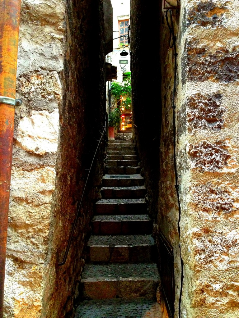 St Paul de Vence, Stairs, France