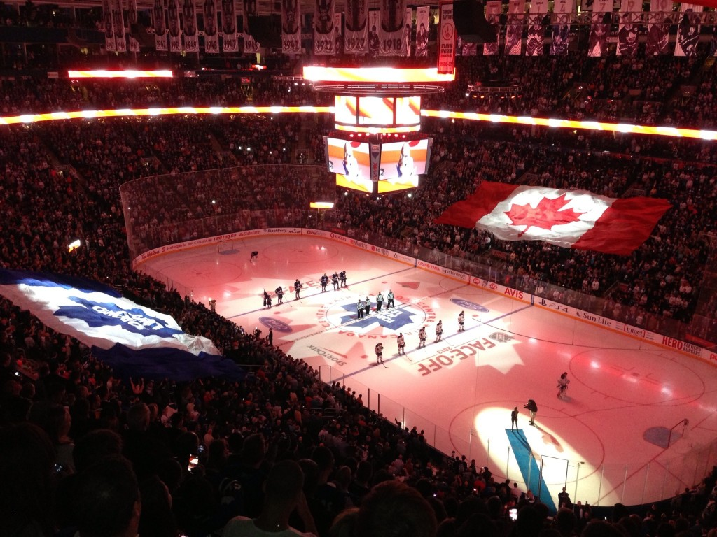 Air Canada Center, Toronto, Toronto Maple Leafs, NHL, hockey, Canada