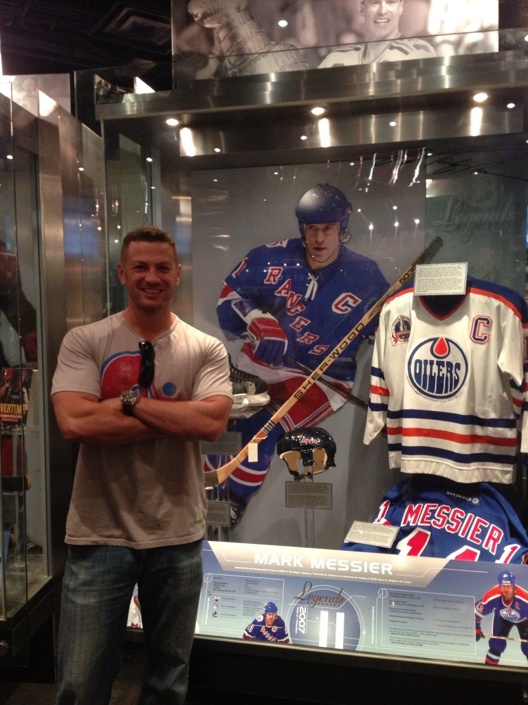 Hockey Hall of Fame, Mark Messier, Toronto, Canada