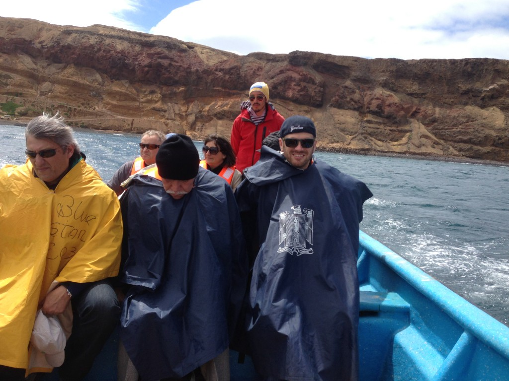 Robinson Crusoe Island, Chile, boat to town