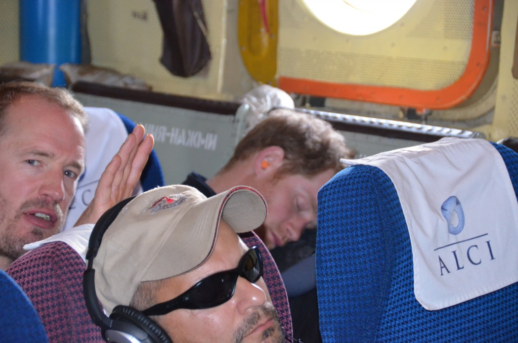 Prince Harry, Prince Harry sleeping on plane, Ilyushin 76, Antarctica flight, Antarctica