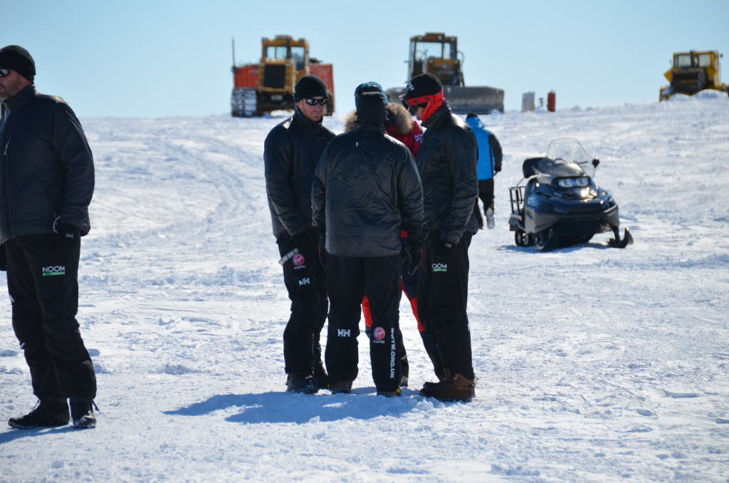 Prince Harry, Novo Base, Antarctica