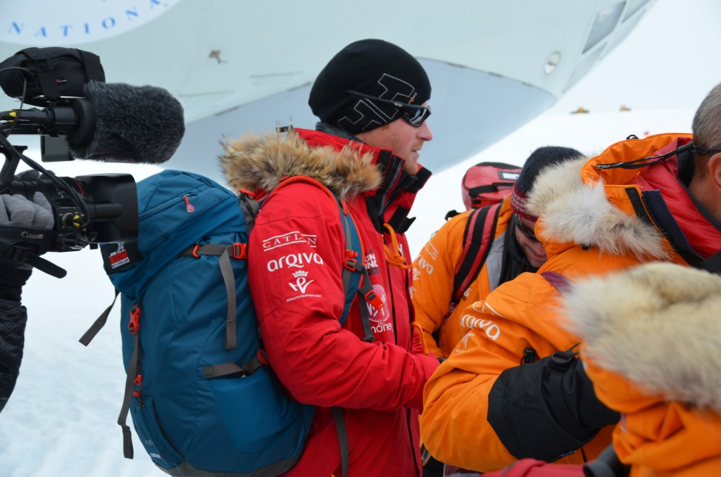Prince Harry, Prince Harry arrives in Antarctica, Antarctica, Ilyushin 76