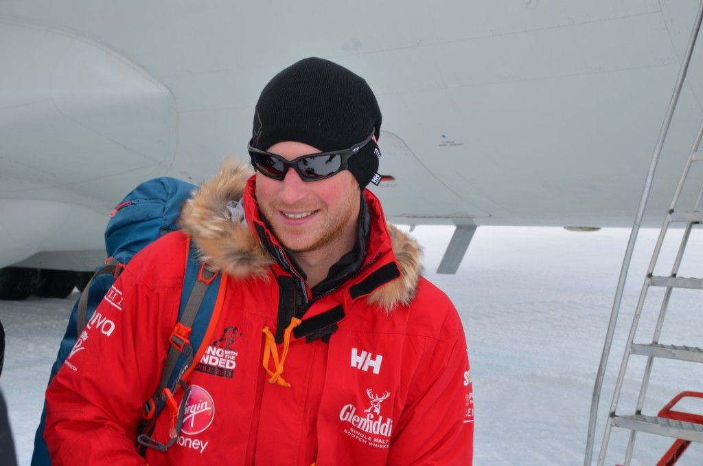 Prince Harry, Antarctica