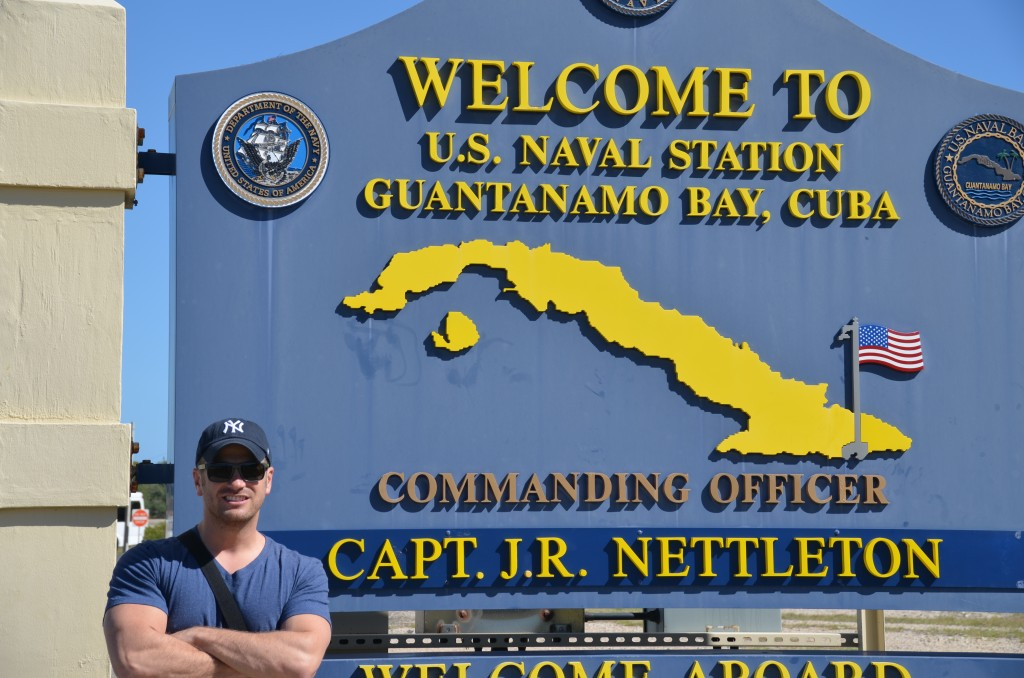Guantanamo Bay, Guantanamo Bay Naval Station, Welcome sign, Lee Abbamonte
