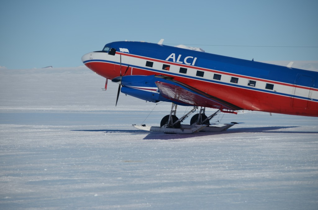 DC-3, DC3, plane to South Pole, Antarctica