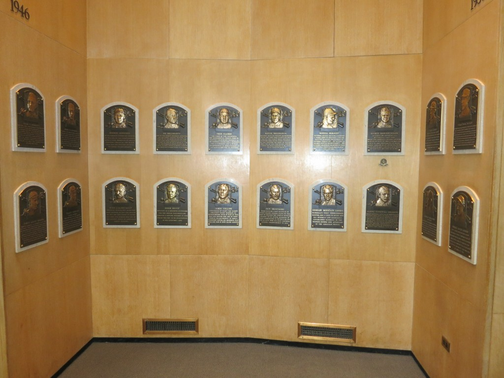 Baseball Hall of Fame, The baseball hall of fame is broken, Cooperstown, baseball