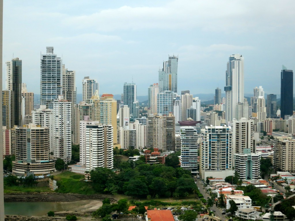 Panama City, Panama, skyline