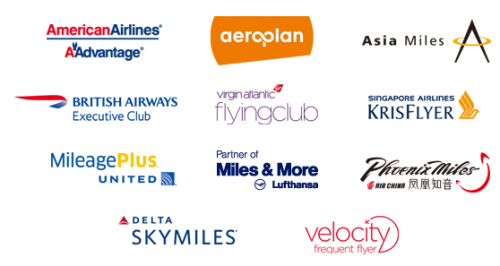 frequent flyer logos