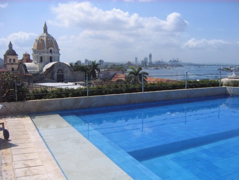 Cartagena pool, Colombia
