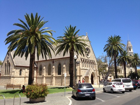 Fremantle churches, Perth, Western Australia