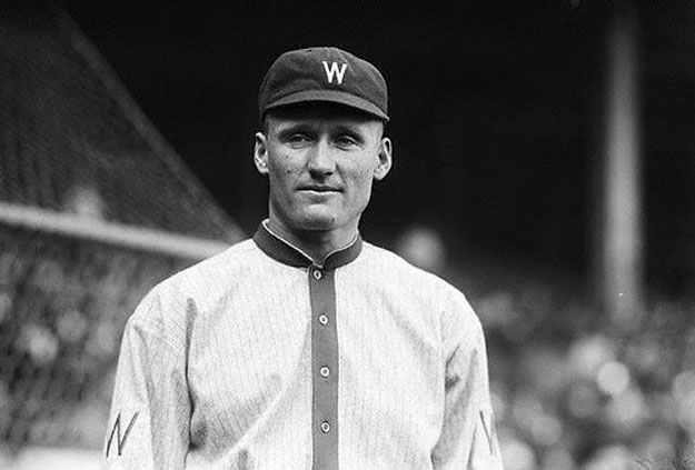 Walter Johnson, Mount Rushmore of Sports