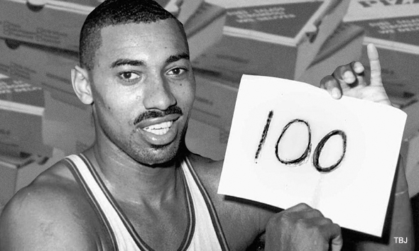 Wilt Chamberlain, Mount Rushmore of Sports