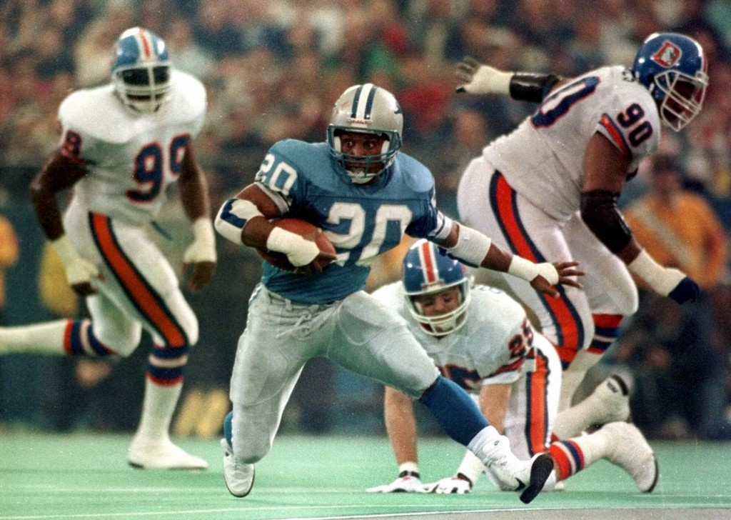 Barry Sanders, Mount Rushmore of Sports