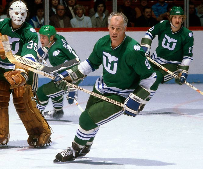 Gordie Howe, Whalers, Mount Rushmore of Sports