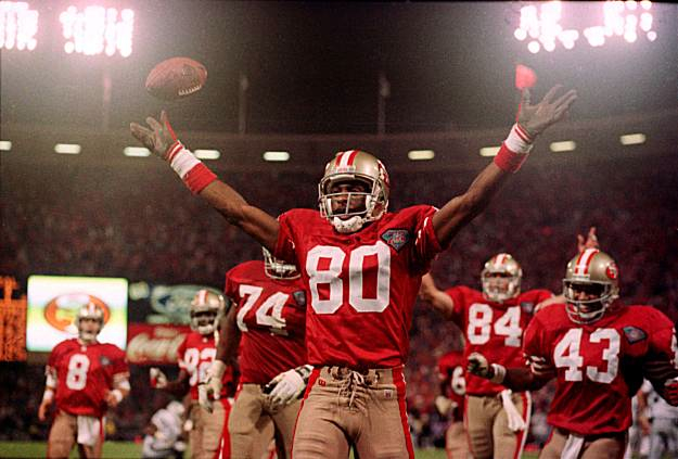 Jerry Rice, Mount Rushmore of Sports