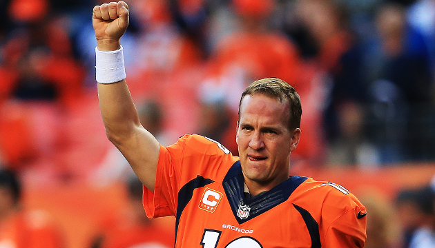 Peyton Manning, Mount Rushmore of Sports