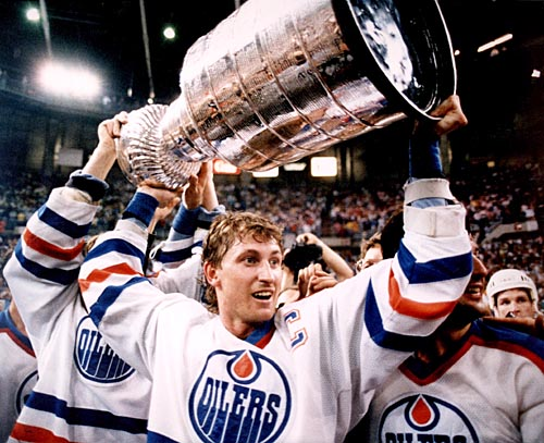 Wayne Gretzky, Mount Rushmore of Sports