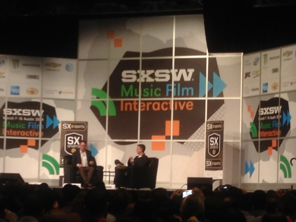 Bill Simmons, SXSW, Austin, Texas