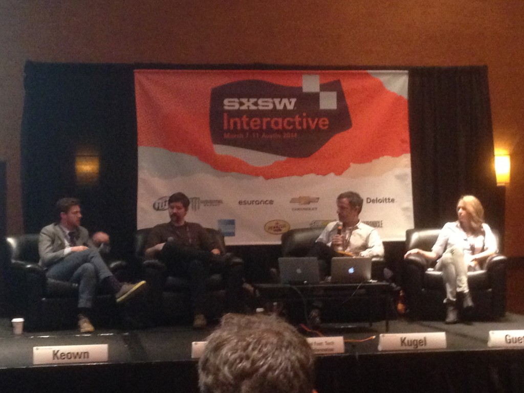 travel panel, SXSW, Austin, Texas