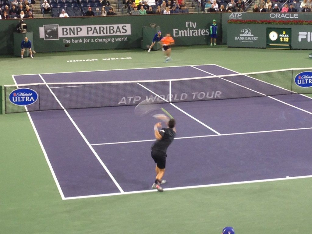 Novak Djokovic, Marin Cilic, Indian Wells Masters tennis, tennis