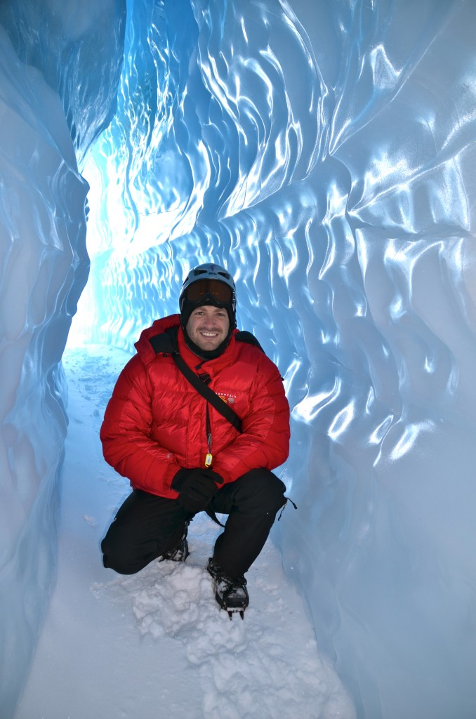 Lee Abbamonte, Antarctica, Queen Maud Land, Ice Caving