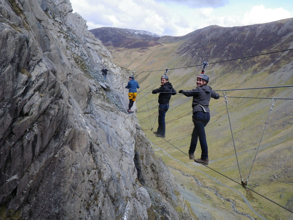 Lee Abbamonte, Via Ferrata, Cumbria, Keswick, England, Lake District, UK