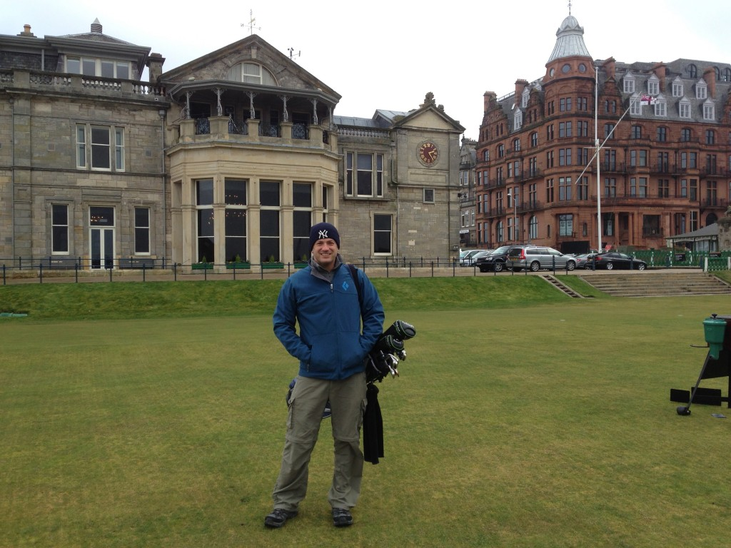 Lee Abbamonte, Scotland, St. Andrews, the Old Course at St. Andrews