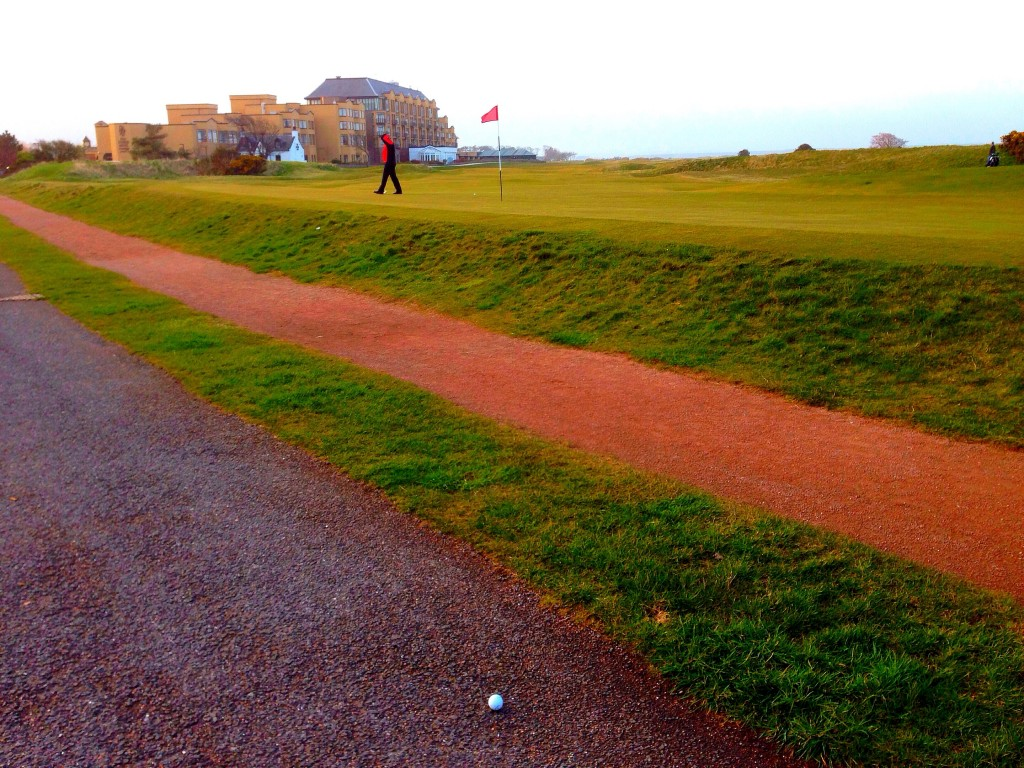 road hole, Scotland, St. Andrews, the Old Course at St. Andrews
