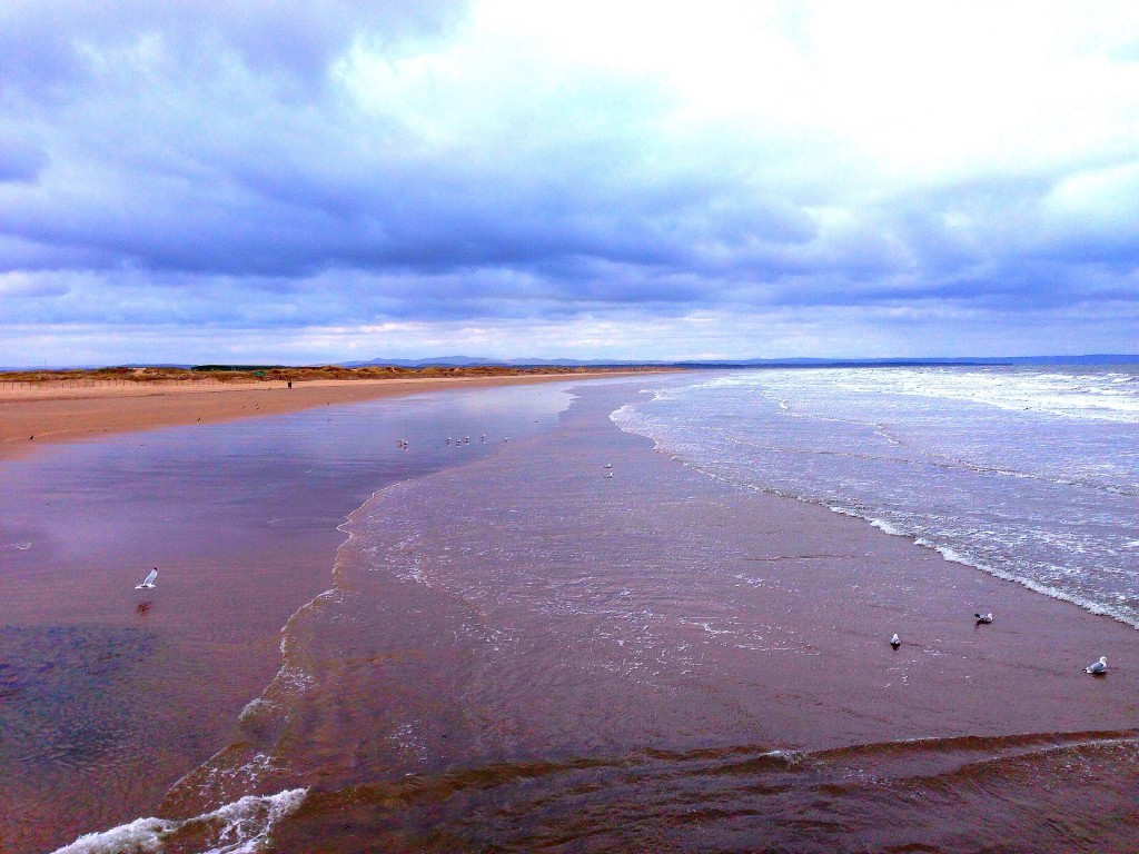 chariots of fire beach, beach, Scotland, St. Andrews, the Old Course at St. Andrews