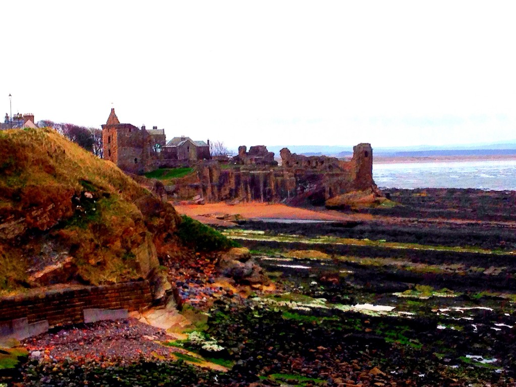 castle of St. Andrews, Scotland