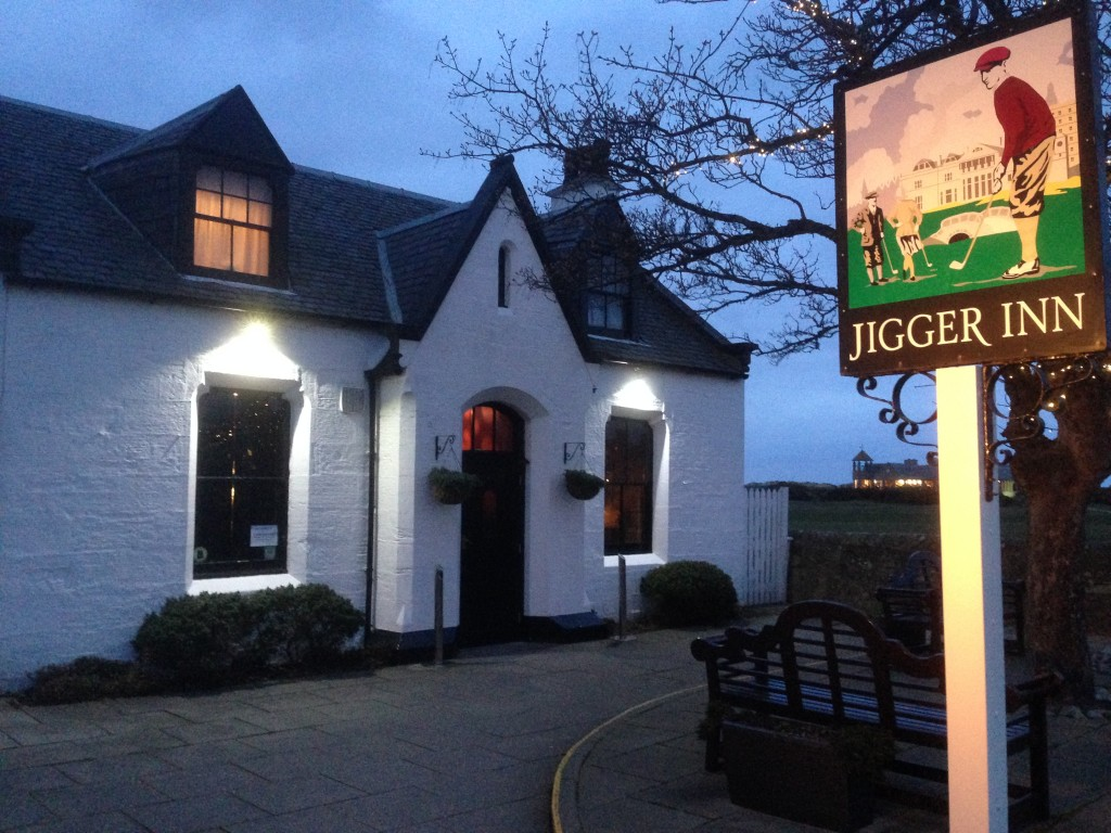 Jigger Inn, Scotland, St. Andrews, the Old Course at St. Andrews