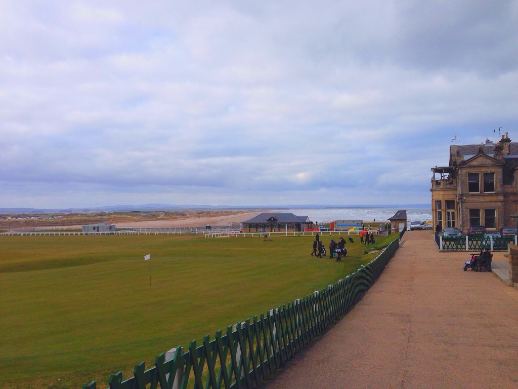 Scotland, St. Andrews, the Old Course at St. Andrews