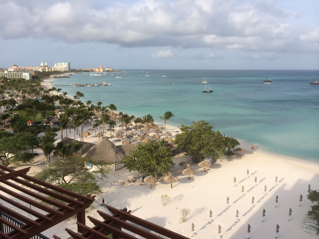 Ritz Carlton, Aruba, view