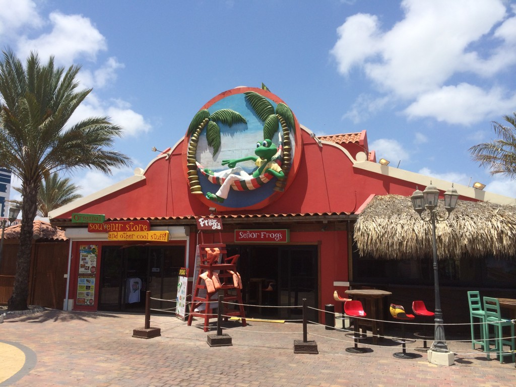 senor frogs, aruba