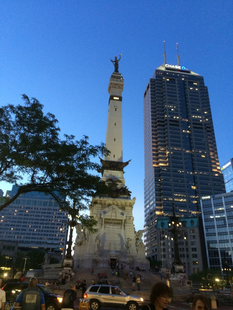 Monument Circle, Indianapolis, Indy