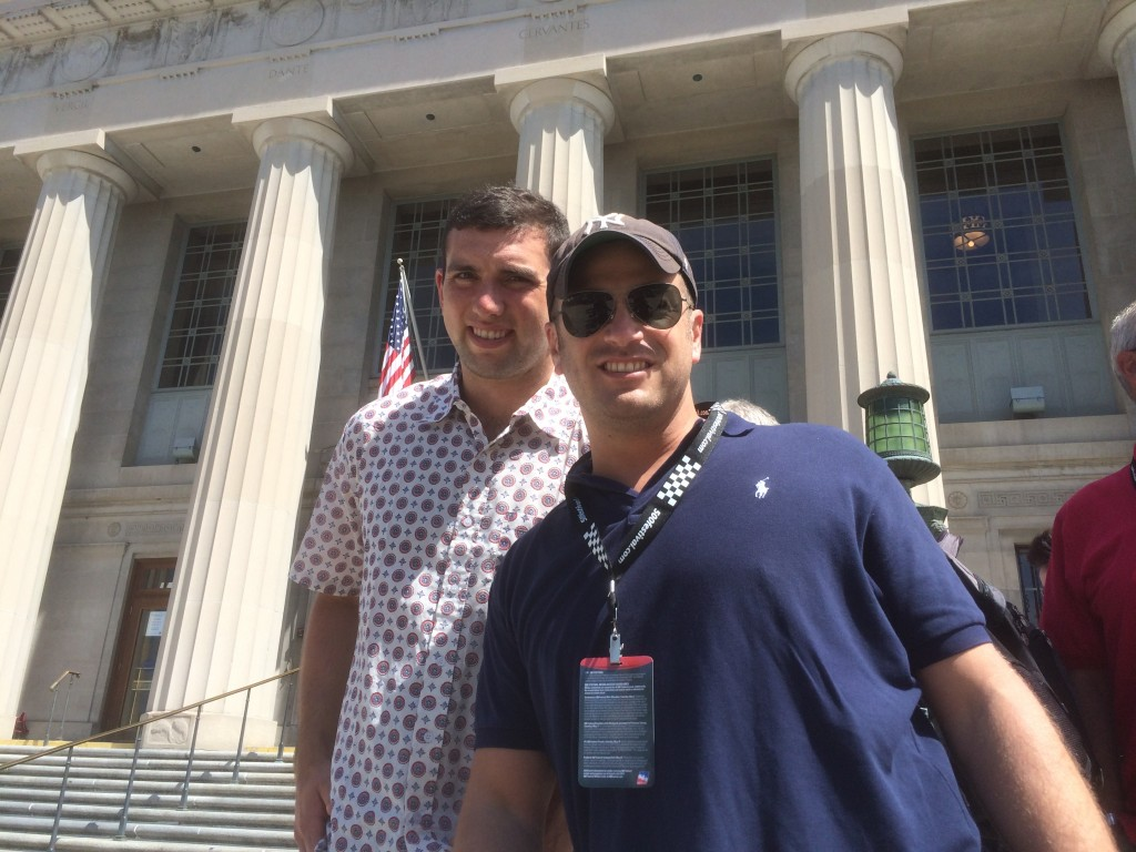 Andrew Luck, Lee Abbamonte, Indy 500
