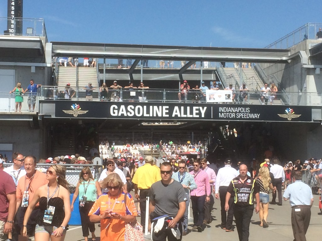 Gasoline Alley, Indy 500